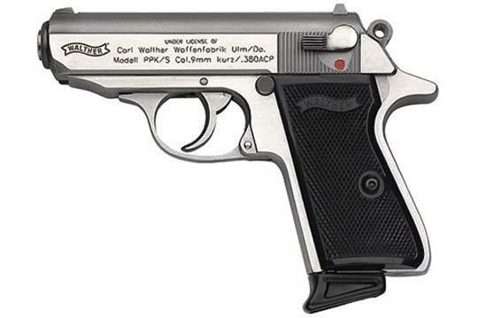 Walther PPK/S  .380 ACP  Semi Auto Pistol UPC 698958002667