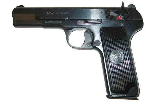 Zastava Arms M57  7.62x25  Semi Auto Pistol UPC 787450222588